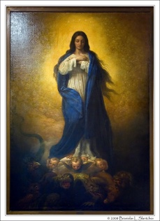 080323-151749 The Virgin Mary in Glory from the book of Revelation